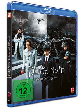 Death Note: Light Up the New World Blu-ray