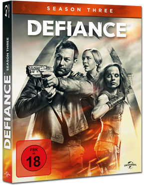 Defiance: Staffel 3 Box Blu-ray (3 Discs)