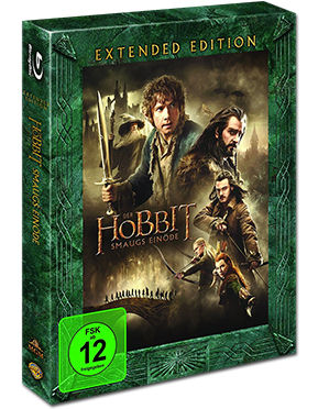 Der Hobbit 2: Smaugs Einöde - Extended Edition Blu-ray (3 Discs)