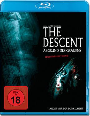 The Descent: Abgrund des Grauens Blu-ray