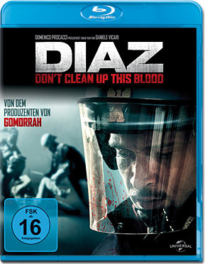 Diaz: Don't Clean Up This Blood Blu-ray