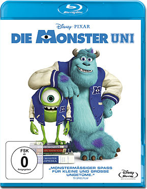 Die Monster Uni Blu-ray