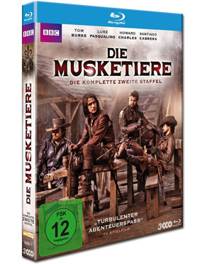 Die Musketiere: Staffel 2 Box Blu-ray (3 Discs)