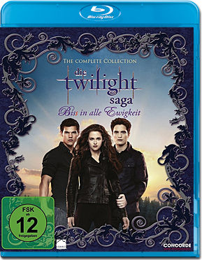 Die Twilight Saga - The Complete Collection Blu-ray (6 Discs)