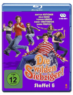 Die wilden Siebziger: Staffel 6 Box Blu-ray (2 Discs)