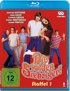 Die wilden Siebziger: Staffel 7 Box Blu-ray (2 Discs)
