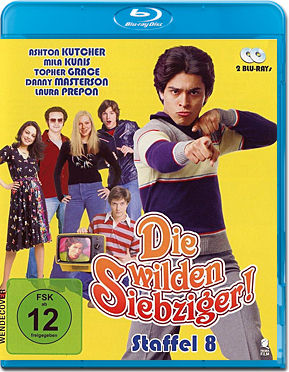 Die wilden Siebziger: Staffel 8 Box Blu-ray (2 Discs)