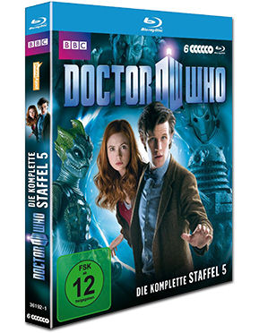 Doctor Who: Staffel 05 Blu-ray (6 Discs)