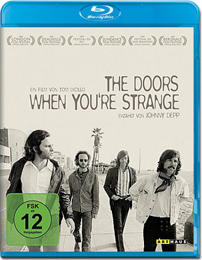 The Doors: When You're Strange Blu-ray