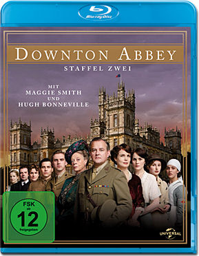 Downton Abbey: Staffel 2 Box Blu-ray (4 Discs)