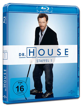 Dr. House: Staffel 1 Box Blu-ray (5 Discs)