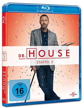 Dr. House: Staffel 3 Box Blu-ray (5 Discs)