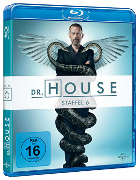 Dr. House: Staffel 6 Box Blu-ray (6 Discs)