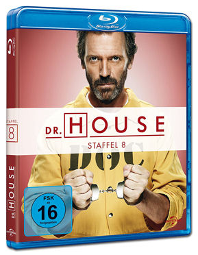 Dr. House: Staffel 8 Blu-ray (5 Discs)