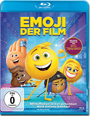 Emoji: Der Film Blu-ray