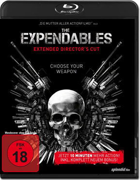 The Expendables - Extended Director's Cut Blu-ray