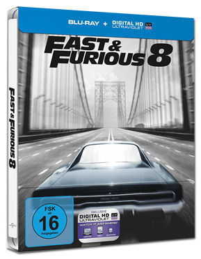 Fast & Furious 8 - Steelbook Edition Blu-ray