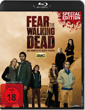 Fear the Walking Dead: Staffel 1 Box - Special Edition Blu-ray (2 Discs)