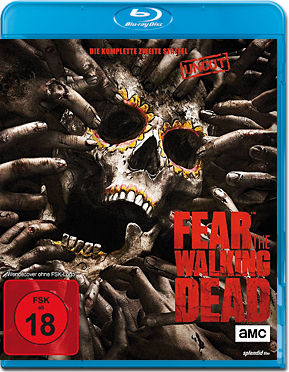 Fear the Walking Dead: Staffel 2 Blu-ray (4 Discs)
