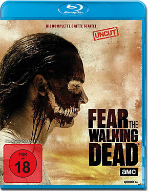 Fear the Walking Dead: Staffel 3 Blu-ray (4 Discs)