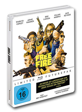 Free Fire - Limited Special Edition Blu-ray