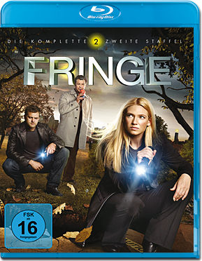 Fringe: Staffel 2 Box Blu-ray (4 Discs)
