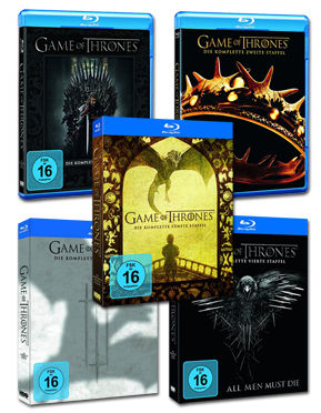 Game of Thrones: Staffel 1-5 Set Blu-ray (23 Discs)