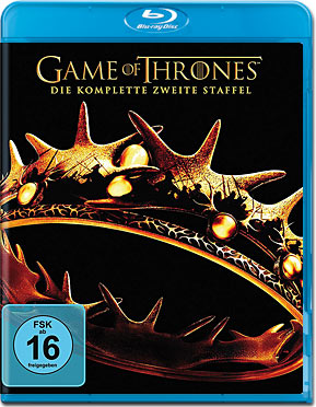 Game of Thrones: Staffel 2 Box Blu-ray (5 Discs)