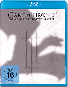 Game of Thrones: Staffel 3 Blu-ray (5 Discs)