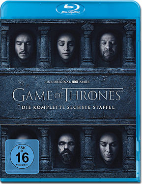 Game of Thrones: Staffel 6 Box Blu-ray (4 Discs)