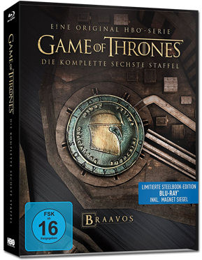 Game of Thrones: Staffel 6 Box - Steelbook Edition Blu-ray (4 Discs)