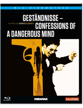 Geständnisse - Confessions of a Dangerous Mind Blu-ray
