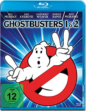 Ghostbusters 1 & 2 Blu-ray (2 Discs)
