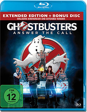 Ghostbusters (2016) - Extended Edition Blu-ray (2 Discs)