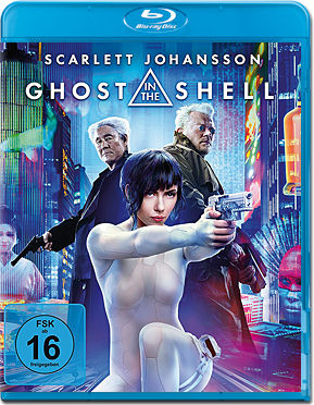 Ghost in the Shell (2017) Blu-ray