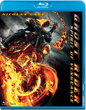 Ghost Rider 2: Spirit of Vengeance Blu-ray