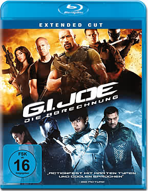 g i joe 2 die abrechnung blu ray blu ray filme world of games. Black Bedroom Furniture Sets. Home Design Ideas