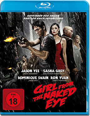 The Girl from the Naked Eye Blu-ray