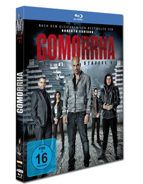 Gomorrha: Staffel 1 Box Blu-ray (4 Discs)