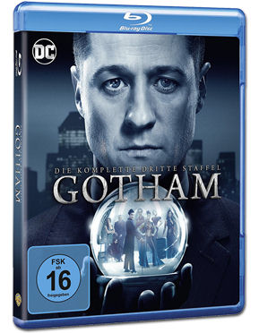 Gotham: Staffel 3 Box Blu-ray (4 Discs)