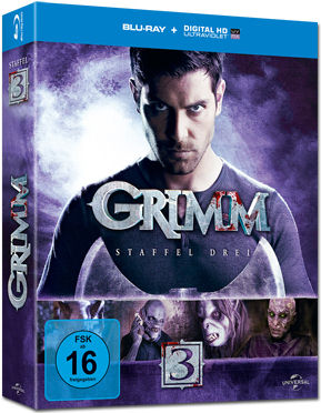 Grimm: Staffel 3 Box Blu-ray (5 Discs)