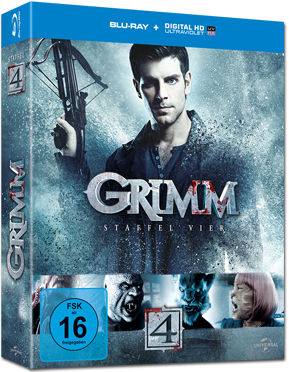 Grimm: Staffel 4 Box Blu-ray (5 Discs)