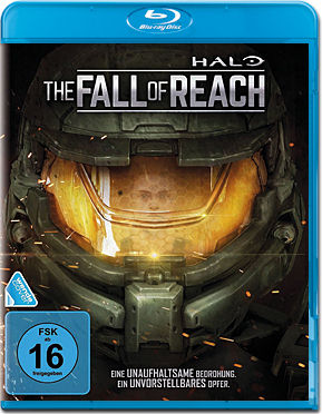 Halo: The Fall of Reach Blu-ray