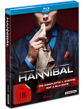 Hannibal: Staffel 1 Box Blu-ray (3 Discs)