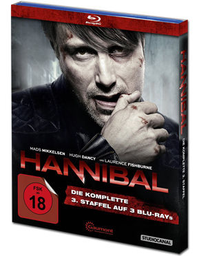 Hannibal: Staffel 3 Box Blu-ray (3 Discs)