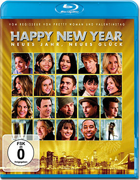 Happy New Year Blu-ray