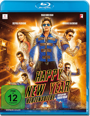 Happy New Year - Herzensdiebe Blu-ray