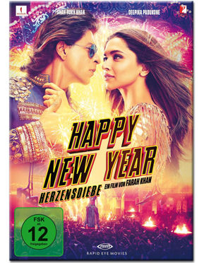 Happy New Year - Herzensdiebe - Special Edition Blu-ray (3 Discs)