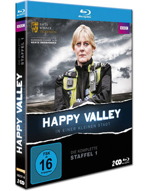 Happy Valley: In einer kleinen Stadt - Staffel 1 Box Blu-ray (2 Discs)