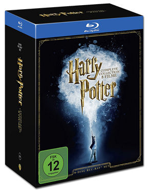 Harry Potter - Complete Collection Blu-ray (8 Discs)